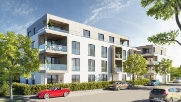 SILVER LIVING: Seniorengerechte Neubau-ETW mit Serviceangebot im Neubaugebiet von  Linkenheim-Hoch.!, 76351 Linkenheim-Hochstetten, Erdgeschosswohnung