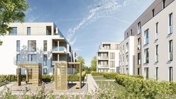 """SILVER LIVING: Moderne 2-Zimmer-ETW mit eigenem Garten im """"Betreuten Wohnen"""" in Linkenheim-Hoch.!, 76351 Linkenheim-Hochstetten, Erdgeschosswohnung"""
